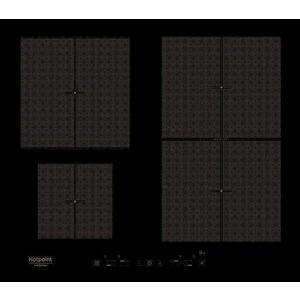 Индукционная варочная панель Hotpoint-Ariston KIT 641 F B варочная панель hotpoint ariston hr 714 b индукционная независимая черный