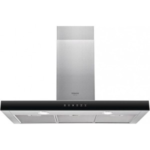 Вытяжка Hotpoint-Ariston HHBS 9.8F LT X вытяжка каминная hotpoint ariston hlb 9 8 aadc x ha