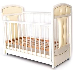 Кроватка Birichino Vera 120х60 слоновая кость кроватка с маятником sweet baby eligio avorio слоновая кость