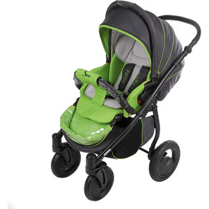 Коляска прогулочная Tutis Zippy Sport plus серый,зеленый