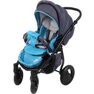 Коляска прогулочная Tutis Zippy Sport plus серый,синий