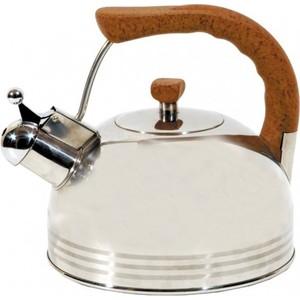 Чайник со свистком 2.5 л Regent Люкс (93-2503B.1) чайник 2 6 л со свистком regent tea 93 tea 29