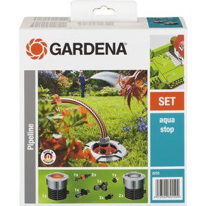 Комплект садового водопровода базовый Gardena (08255-20.000.00) шланг подающий gardena 1 25мм 25м 02792 20 000 00