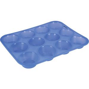 Форма для кексов 12 ячеек Regent Silicone (93-SI-FO-08) форма для кексов 12 ячеек regent silicone 93 si fo 08