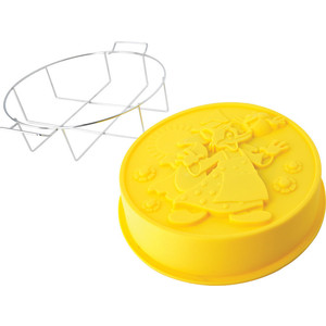 Форма для выпечки 25x6 см Regent Silicone Колобок (93-SI-FO-106)