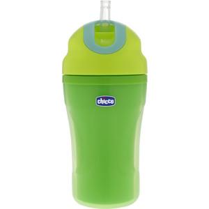 Детская чашка-поильник Chicco 18м+, зелёный, пласт