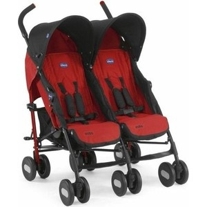 Коляска для двойни Chicco Echo Twin Stroller Garnet