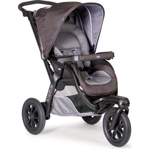 Коляска прогулочная Chicco Active3 цвет Grey прогулочная коляска chicco activ3 grey