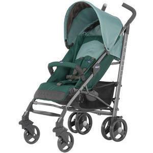 Коляска-трость Chicco Lite Way Top Stroller цвет Green с бампером