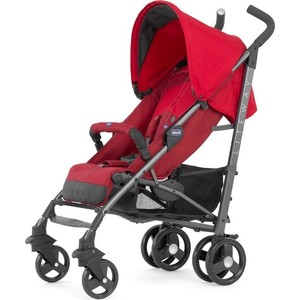 Коляска-трость Chicco Lite Way Top Stroller цвет New Red с бампером red curved crop top
