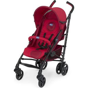 Коляска-трость Chicco Lite Way Top Stroller цвет Red с бампером chicco lite way top отзывы