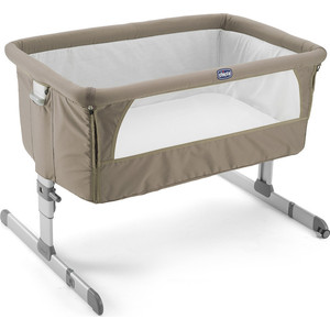 Кроватка Chicco Next2me Dove Grey