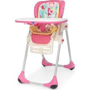 Стульчик для кормления Chicco Polly Marine 2 колеса chicco chicco подушка для кормления boppy с 2 х сторонним чехлом little lady
