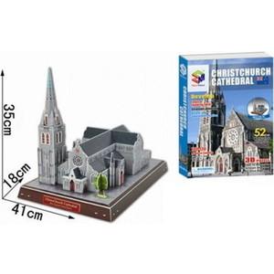 3D пазл Magic Puzzle Объемный Кафедральный собор Крайстчерча_3