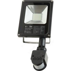 Светодиодный прожектор с датчиком движения X-flash XF-FLS-SMD-PIR-20W-6500K Артикул 46867