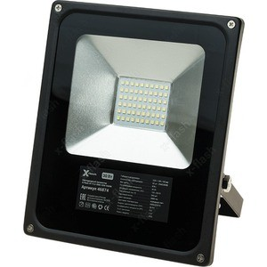 Прожектор светодиодный X-flash XF-FLS-SMD-30W-6500K Артикул 46874 e27 3w 6 x 5730 smd led ac85 265v 220lm white 6500k ball bulb with transparent cover