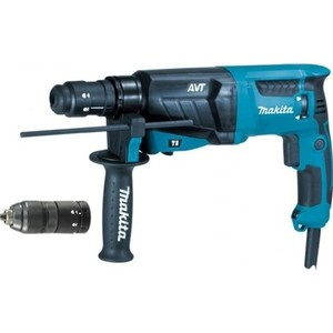 Перфоратор SDS-Plus Makita HR2631FT перфоратор hr 2440 780 вт 2 7 дж sds plus makita