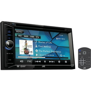 Автомагнитола JVC KW-V12 автомагнитола cd dvd jvc kw v12 2din