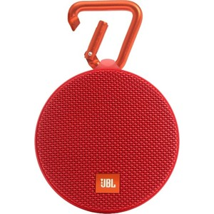 Портативная колонка JBL Clip 2 red jbl jblclipplusgray clip plus gray