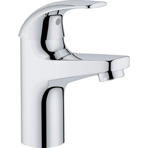 Смеситель для раковины Grohe BauCurve для раковины, гладкий корпус, хром (23165000) universal pke car keyless entry alarm system with remote engine start push start stop button trunk release