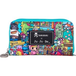 Кошелек Ju-Ju-Be Tokidoki kaiju city (15WA02T-8338) ju ju be сумка для мамы hobobe black petals