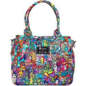 Сумка Ju-Ju-Be Tokidoki kaiju city (15FB01AT-8260) сумка для мамы ju ju be be light onyx black beauty
