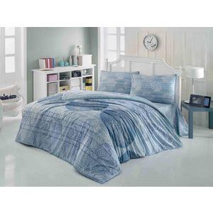 Комплект постельного белья Brielle 1,5 сп 604 V1 blue (1108-84897)/ 869604801108984897
