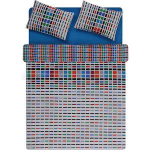 Комплект постельного белья TAC Евро Sanfort V01-turkuaz бирюза (3906-60082773)