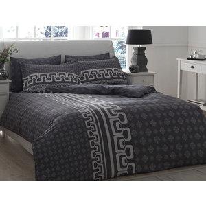 Комплект постельного белья TAC 1,5 сп Leona серый (4241-60069405)
