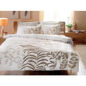 Комплект постельного белья TAC 1,5 сп Santiago белый (4241-60069406)