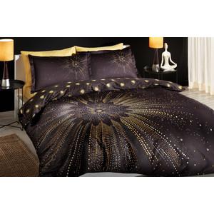 Комплект постельного белья TAC 1,5 сп Selia черный (4241-60088751)