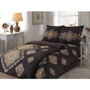 Комплект постельного белья TAC Семейный Diana коричневый (4246-60070127)