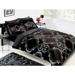Комплект постельного белья TAC 1,5 сп Palladio черный (7029B-8800002869)