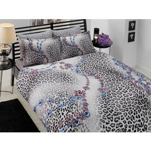 Комплект постельного белья TAC 1,5 сп Shiva серый (7029B-8800002695)