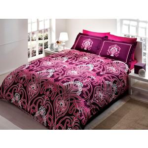 Комплект постельного белья TAC 1,5 сп Torium фуксия (7029B-8800002864)