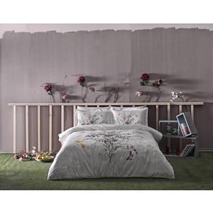 Комплект постельного белья TAC Евро Cerelina серый (3081-07090)