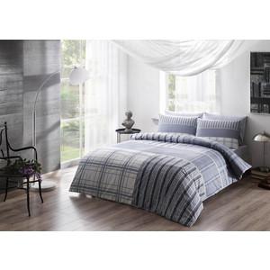Комплект постельного белья TAC Евро Moselle голубой (3081-07096)