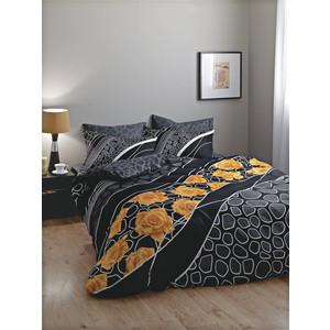 Комплект постельного белья TAC 1,5 сп Gloria черный (4041-08226)