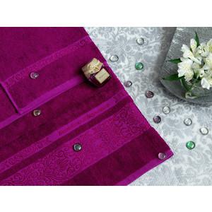 Полотенце TAC Bamboo Elegance 70x140 темно-сиреневый (0916-84121)