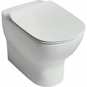 Унитаз Ideal Standard Tesi AquaBlade приставной с сиденьем микролифт унитаз ideal standard connect air aquablade подвесной с сиденьем микролифт