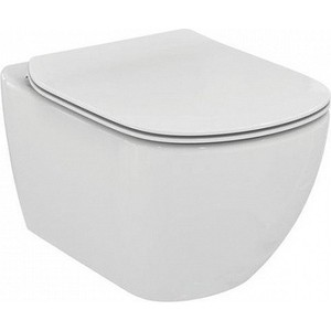 Унитаз Ideal Standard Tesi AquaBlade подвесной с сиденьем микролифт раковина ideal standard tesi 82 2 см t350901