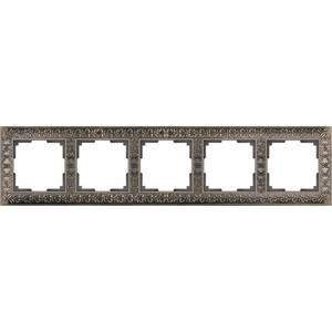 Рамка Werkel Antik бронза WL07-Frame-05 schneider merten sd antik беж рамка 1 ая термопласт mtn483144