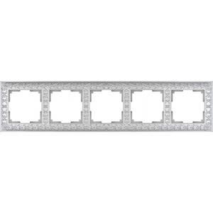 Рамка Werkel Antik жемчужный WL07-Frame-05 schneider merten sd antik беж рамка 1 ая термопласт mtn483144