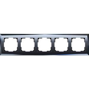 Рамка Werkel Diamant черный WL08-Frame-05 датчики сигнализации homi security hg wl08