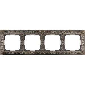 Рамка Werkel Antik бронза WL07-Frame-04 schneider merten sd antik беж рамка 1 ая термопласт mtn483144
