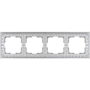 Рамка Werkel Antik жемчужный WL07-Frame-04 schneider merten sd antik беж рамка 1 ая термопласт mtn483144