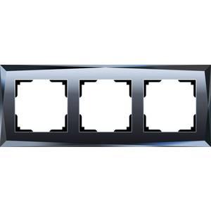 Рамка Werkel Diamant черный WL08-Frame-03 датчики сигнализации homi security hg wl08
