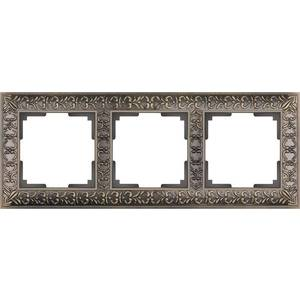 Рамка Werkel Antik бронза WL07-Frame-03 schneider merten sd antik беж рамка 1 ая термопласт mtn483144