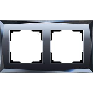 Рамка Werkel Diamant черный WL08-Frame-02 датчики сигнализации homi security hg wl08
