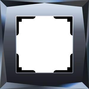 Рамка Werkel Diamant черный WL08-Frame-01 датчики сигнализации homi security hg wl08